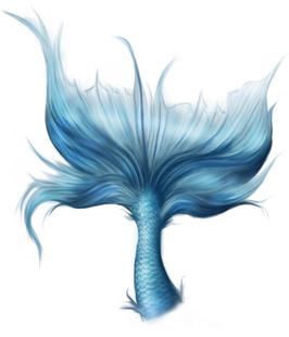 ps免扣素材 cos合成素材 优质素材 m0001-png--美人鱼尾巴素材