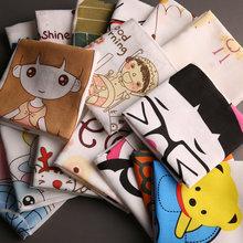 手绢儿童 幼儿园上学 卡通手帕吸水 和木记 手帕纯棉 baby