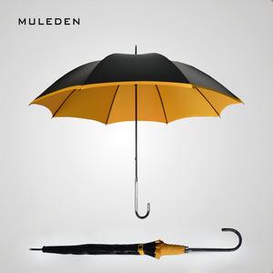 黑胶太阳伞超强防晒防紫外线女晴雨两用雨伞长柄伞超轻遮阳直柄伞