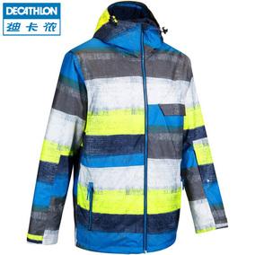 迪卡侬 户外滑雪外套 保暖防水透气 男式夹克 WED'ZE