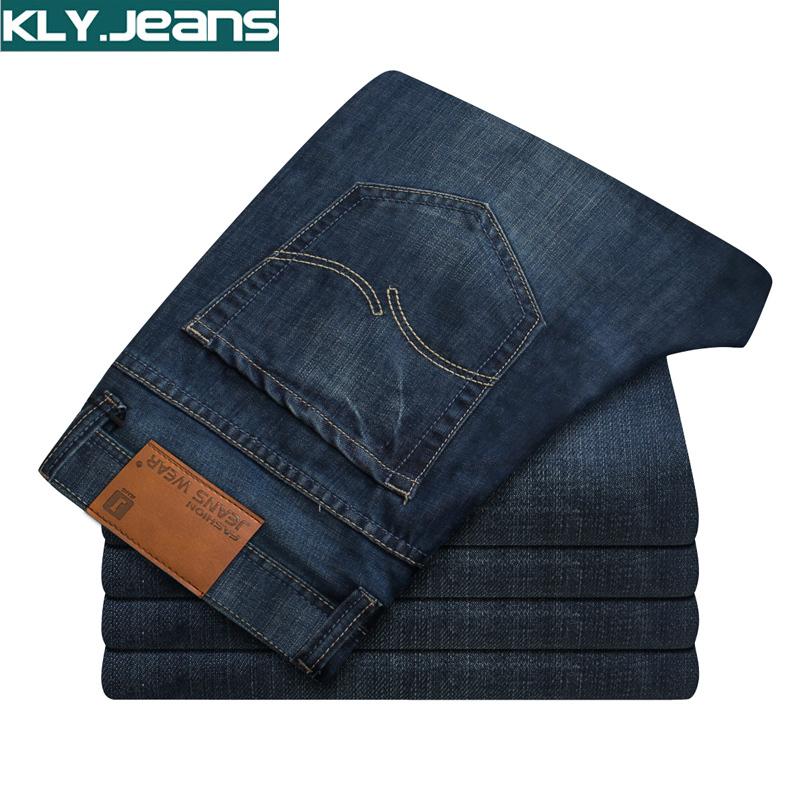 男装牛子裤 男夏季薄款直筒修身男牛仔裤子男生牛仔裤