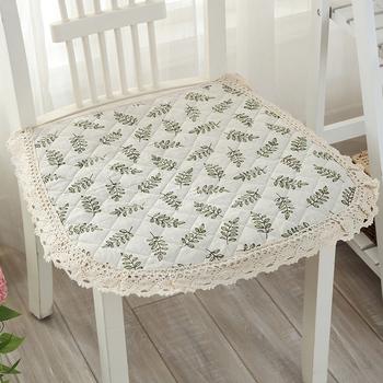 四季薄款餐椅坐垫棉线编织椅子垫