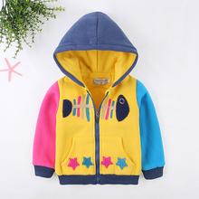 秋冬款儿童棉衣男童棉服带帽卡通好看的外套2014特价童装外套包邮