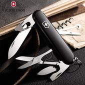 1.3703.3 正版多功能刀 黑色攀登者 正品 91MM 维氏瑞士军刀 原装