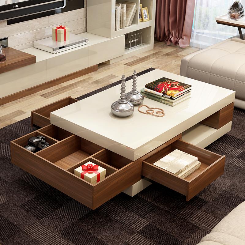 淘宝-现代简约欧式烤漆茶几电视柜组合套餐