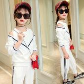 12岁女童秋装套装2017新款长袖4韩版时尚秋季两件套6女孩潮衣洋气