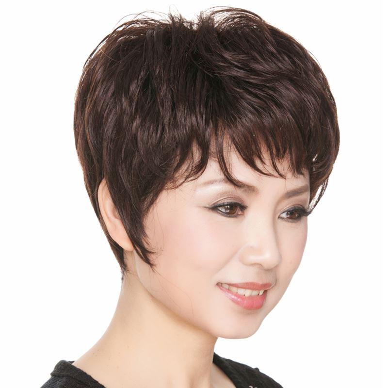 妈妈烫发图片大全短发发型 中年妈妈烫发发型图片