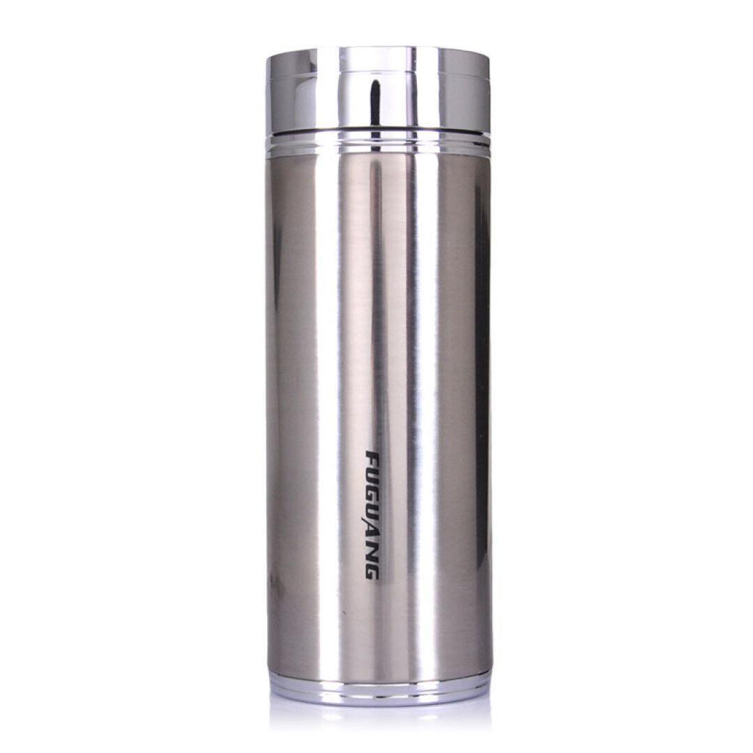 富光保温杯超炫真空直身杯420毫升双层不锈钢杯高档茶水杯子正品