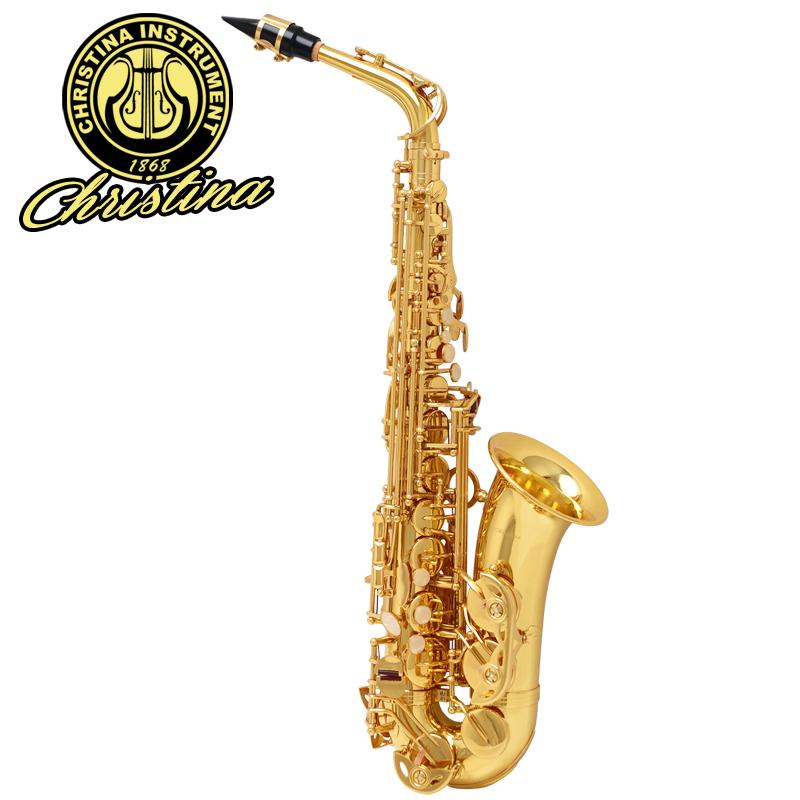 管乐器 萨克斯风 N10708 中音萨克斯 克莉斯蒂娜