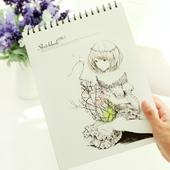 美术空白素描本图画本手绘专用画纸绘画a4纸速写本画画彩铅本子厚