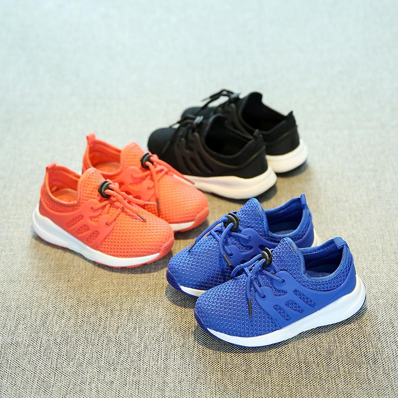 童鞋儿童跑步鞋男童运动鞋春季新款女童休闲鞋透气网鞋