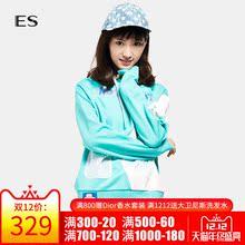 艾格ES 2019春装可爱卡通印花系带连帽九分袖卫衣外套女装K670图片