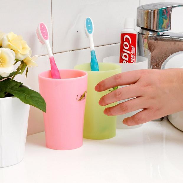 日本进口 漱口杯 洗漱杯 小水杯 可爱杯子 牙杯 水杯 卫浴用具