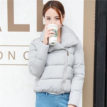 2016韩国反季清仓冬装面包服女短