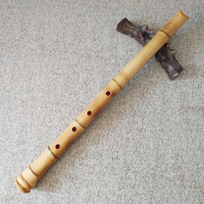 日本尺八乐器玉屏南箫外切口竹根尺八短箫日式五孔尺八悠唐口短箫