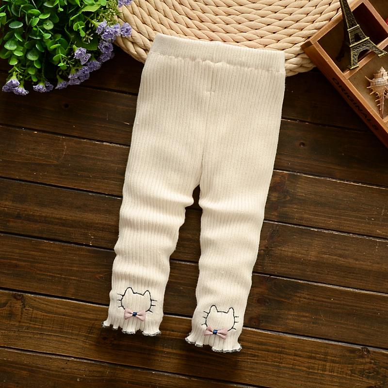 春秋女童公主寶寶嬰兒長褲底褲純棉春裝