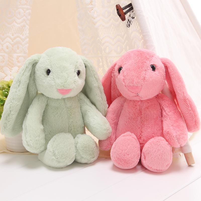 伊美娃娃兔子毛绒玩具