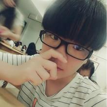 男女通用0-600度近视眼镜时尚超轻学生全框镜架免配镜3