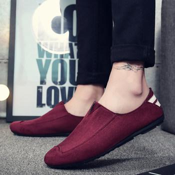 2016冬季男鞋新品工装鞋反绒皮鞋