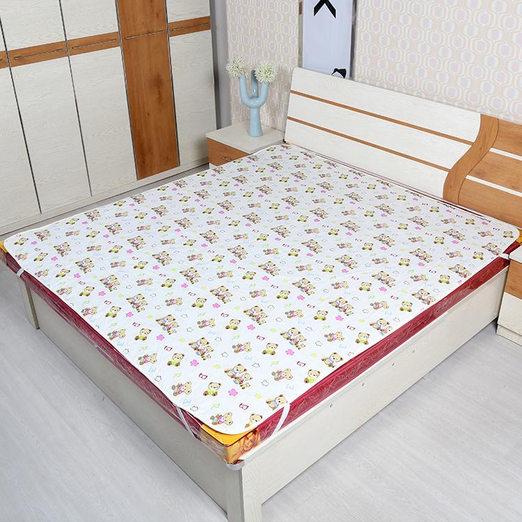 超大号儿童老人防水纯棉防漏透气隔尿垫成人老年人护理垫床垫可洗