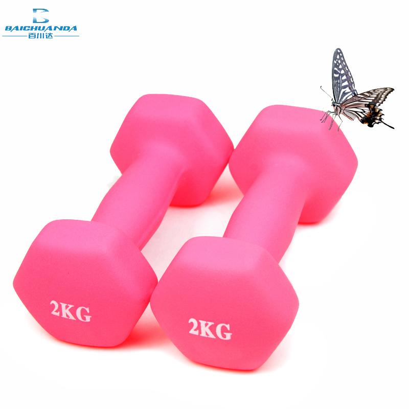 减肥女士哑铃儿童一对健身家用生子手臂kg瑜伽器材