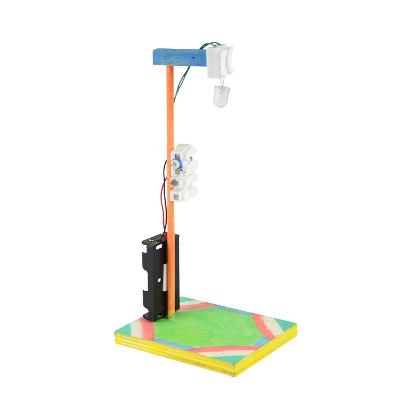 学生科技作品小发明材料创意科学小制作电子玩具光控路灯成人手工