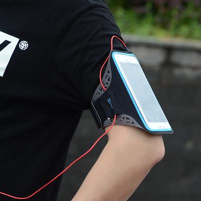 运动手机臂套跑步手机臂包男女臂袋手腕包苹果华为臂带胳膊手臂包