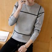 修身 潮流打底衫 外套上衣服 青年卫衣男装 T恤男士 韩版 秋季新款 长袖