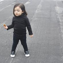 美妞之城 加绒女童打底衫 全棉波浪边打底衫 特别的面料 2016冬季