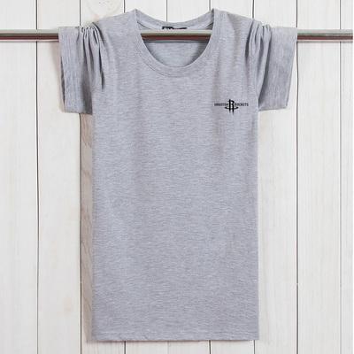 夏季纯棉胖子肥佬短袖T恤 加肥加大码男士圆领特宽松打底衫T恤潮