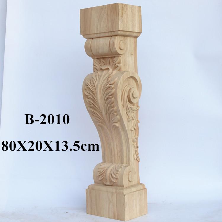 东阳木雕柱头 梁托 实木雕花柱头 欧式装修罗马柱头  梁垫 牛腿