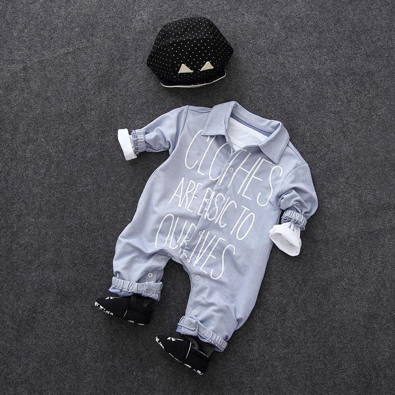 婴儿连体衣服女宝宝新生儿0长袖3个月秋季6哈衣1春秋装长袖秋冬季