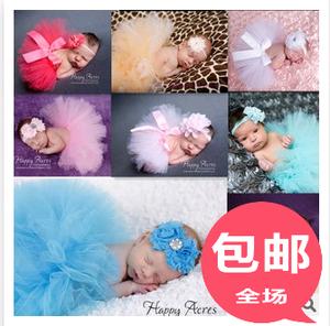 【天天特价】影楼儿童摄影服装百天服装宝宝摄影服装摄影蓬蓬裙子