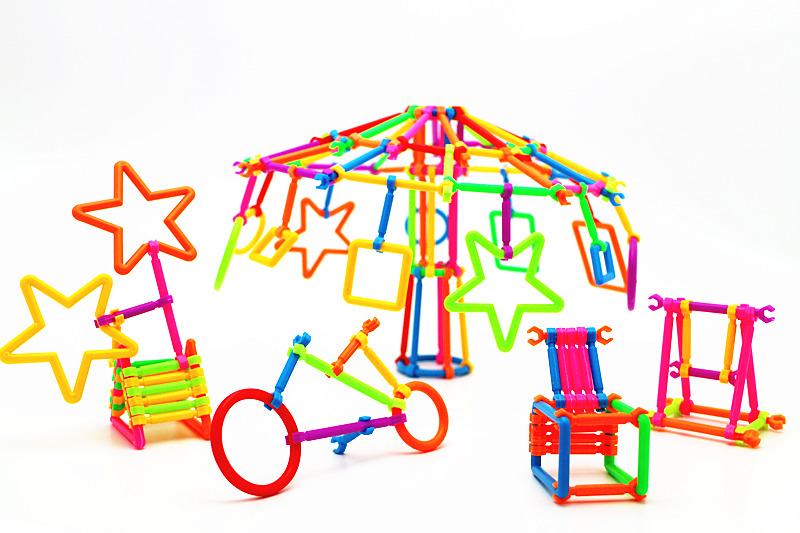拼装玩具步骤图纸
