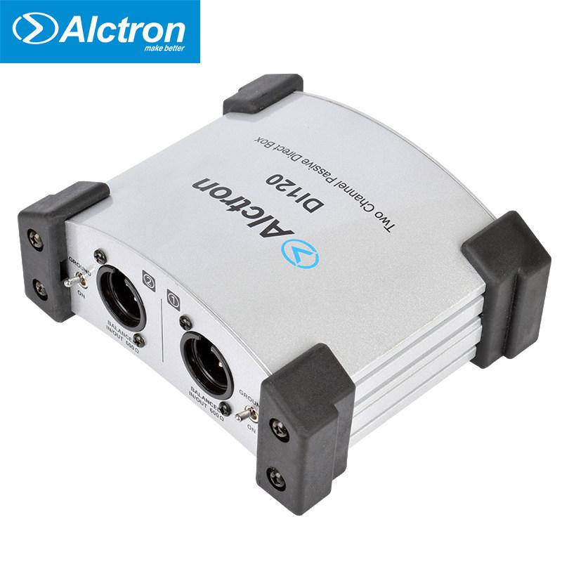 Alctron/爱克创 DI120两路无源DI盒 DI BOX舞台效果器 阻抗变换器