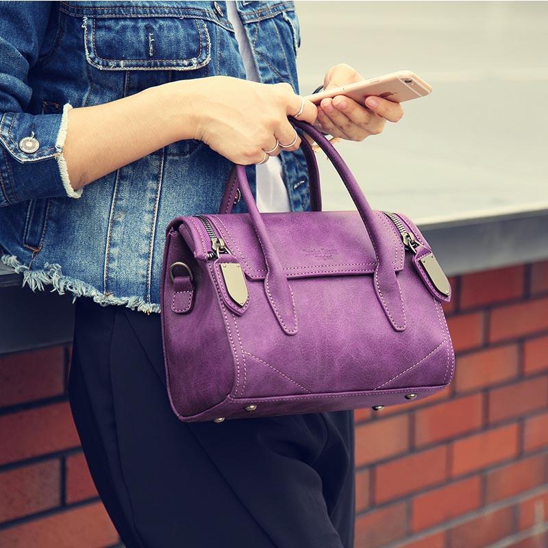 兰博丹尼女士包包2016新款春夏手提包简约单肩包斜挎包通勤包潮流