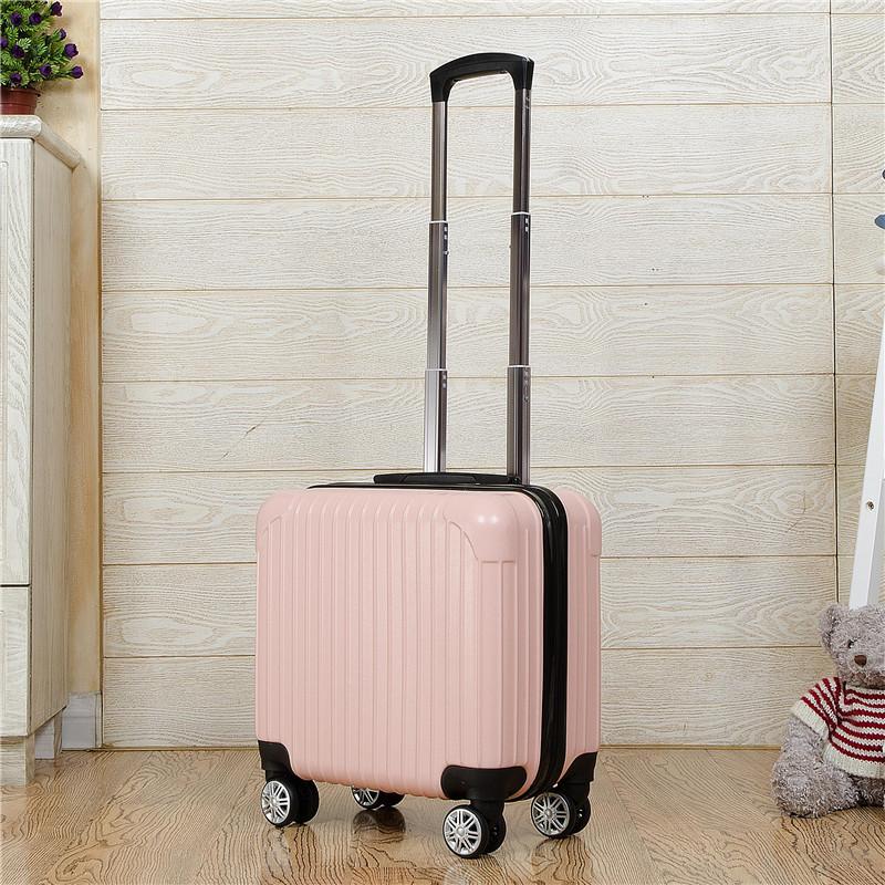 小号18寸登机箱飞机迷你箱包女小杆箱商务旅行箱旅行小型拉杆箱