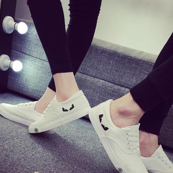 鞋百搭板鞋街拍夏季韩版小白鞋休闲帆布鞋学生情侣潮男鞋