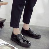 春季潮鞋运动休闲高帮板鞋男生潮流学生韩版潮男鞋子百搭厚底青年