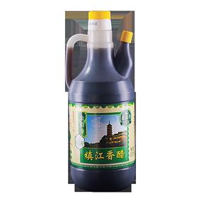金山寺镇江香醋835ml一级酿造米醋陈醋烧菜凉拌泡花生拌面饺子醋