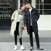 韩国棉衣女2016冬新品中长款羽绒棉袄宽松显瘦加厚学生情侣面包服