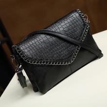 包包2016新款斜挎包女包简约小包包潮单肩链条包信封包女士手拿包
