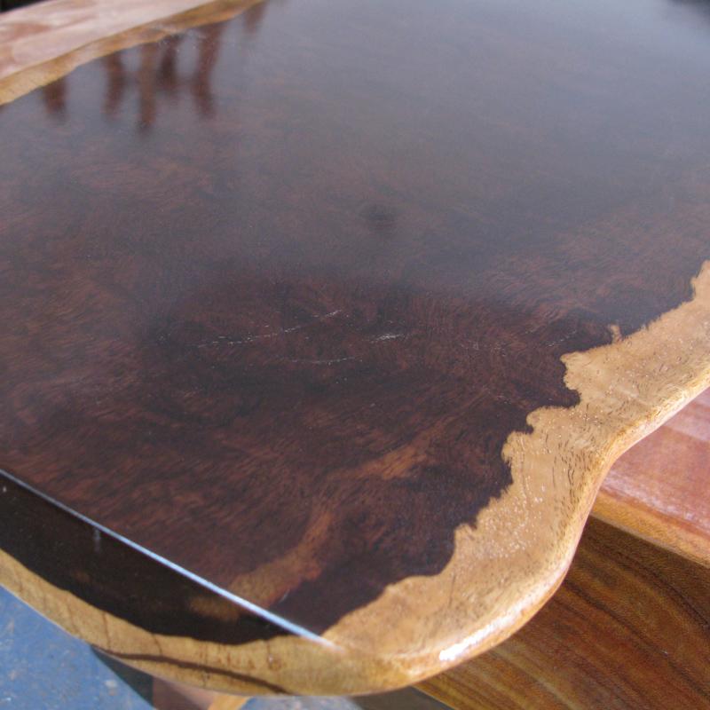 实木原木 大板桌茶台画案 喜之安 黑檀 乌木 大板 一个平方