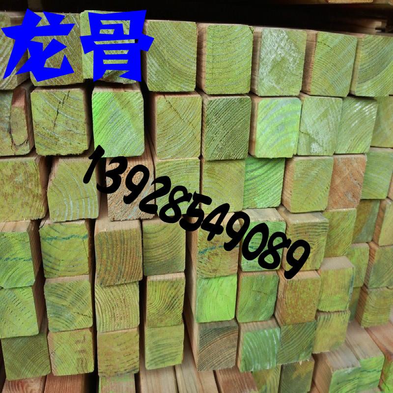 防腐木木龙骨吊顶天花木龙骨木质吸音板生态木专用龙骨40*40