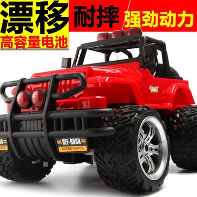 大号遥控车越野车充电漂移遥控悍马儿童玩具汽车男孩耐摔赛车10岁