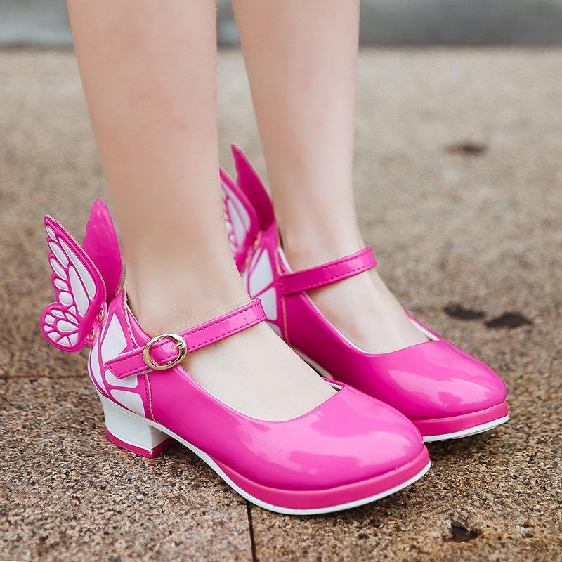 正品[儿童高跟鞋公主童鞋]大人高跟鞋公主童鞋