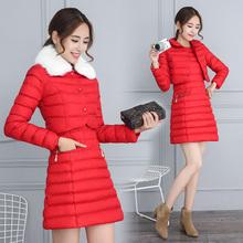 女娃娃领真毛领短款 马甲背心连衣裙两件套 小棉衣无袖 冬季韩版 新款