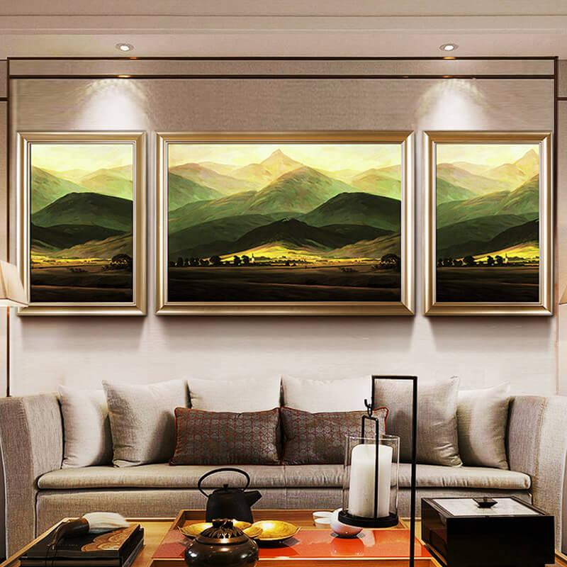 欧式沙发背景墙画壁画挂画