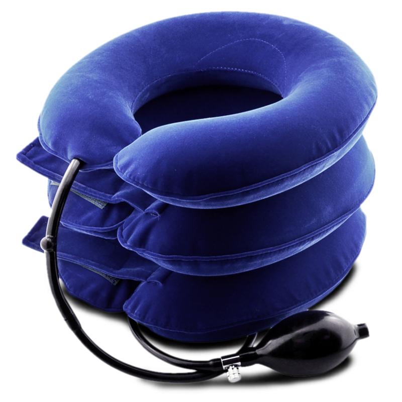 鱼跃颈椎牵引器 家用充气式劲椎拉伸器 颈椎治疗仪 颈椎病按摩仪