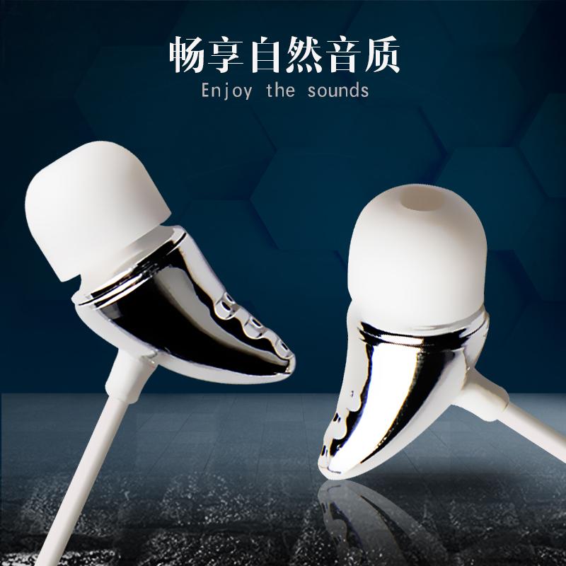手機耳機韓國通用可愛N4女生耳塞入耳式帶麥迷你 紐能